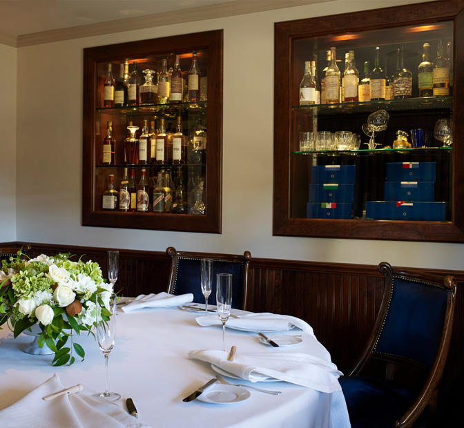The French Laundry Interior