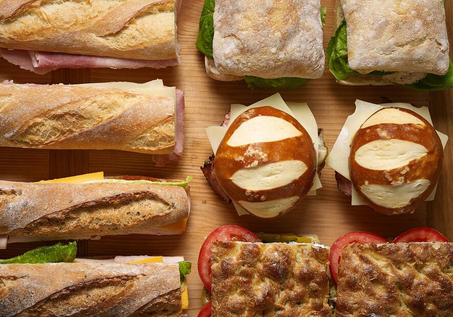 Bouchon Bakery sandwiches