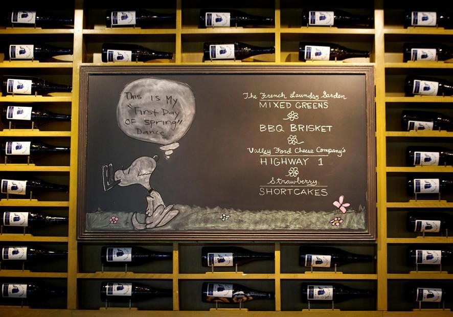 Ad Hoc Chalkboard Menu