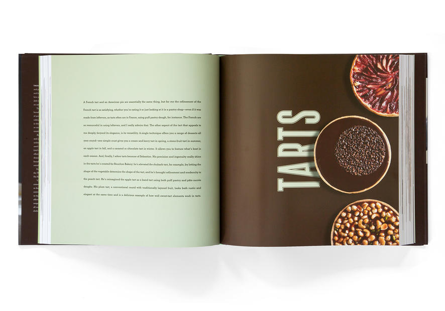 Bouchon Bakery Cookbook; open