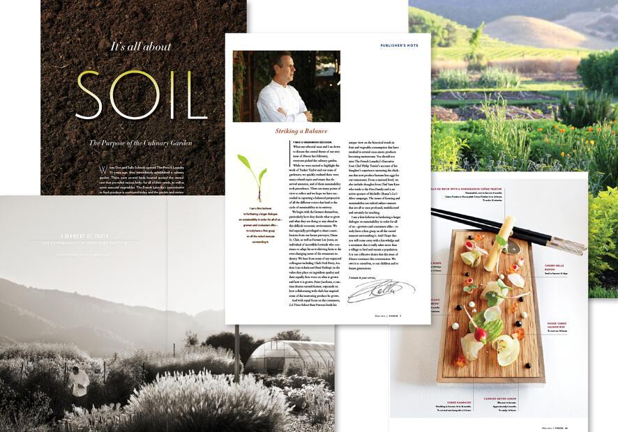 Finesse Magazine Garden Issue