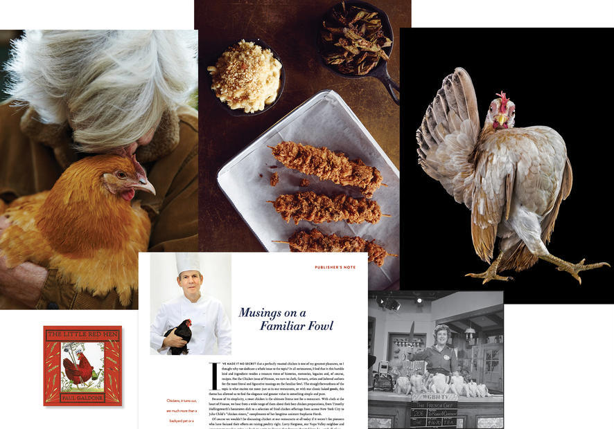 Finesse Magazine Chicken Issue collage
