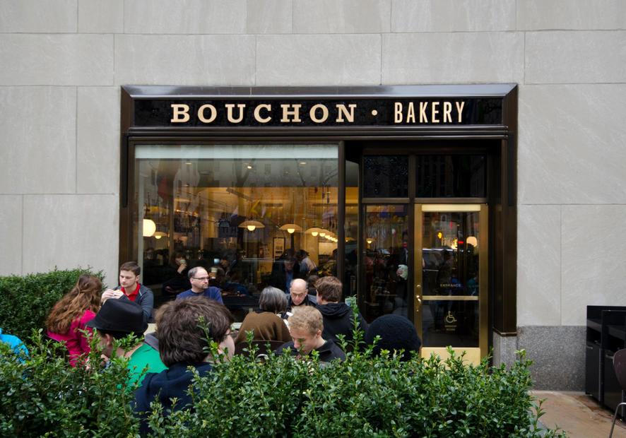 Bouchon Bakery Rockefeller Center Exterior