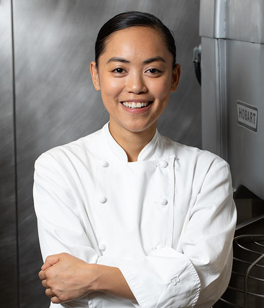 Portrait of Chef Pauline Balboa